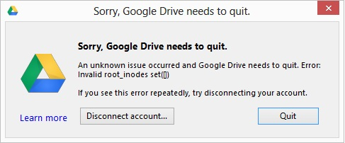 Google Drive Not Working