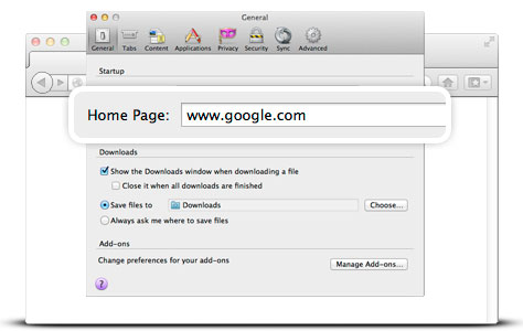 How to Make Google my Homepage on Mac