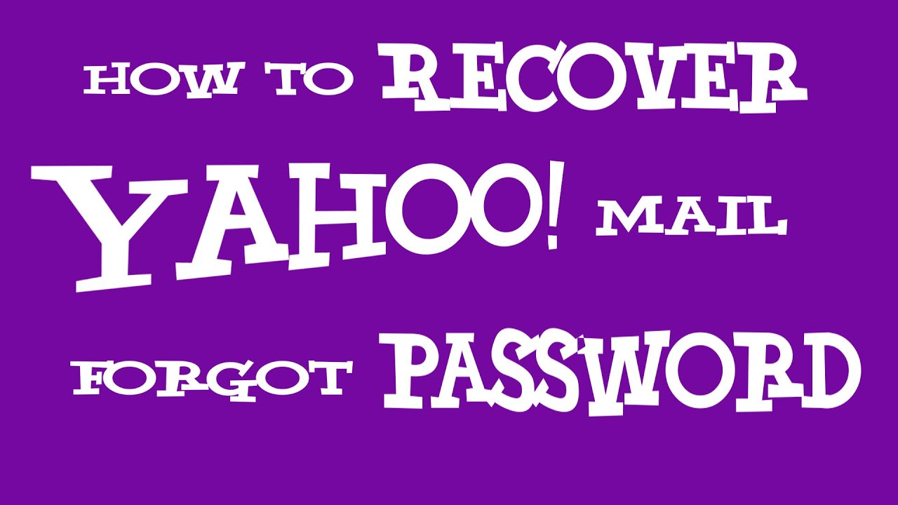 how to recover yahoo password without phone number and recovery email